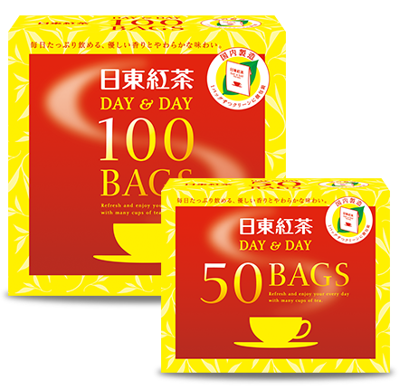 日東紅茶 DAY&DAYティーバッグ