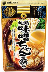 〆まで美味しい 地鶏味噌ちゃんこ鍋つゆ